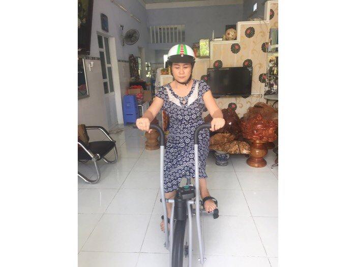 Xe đạp tập liên hoàn dành cho người già ,và người tai biến ở quy nhơn1