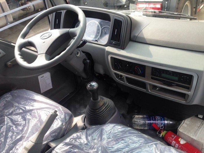 Bán xe tải jac  2tấn 4,  2 tấn rưỡi thùng mui bạt, thùng kín giá rẻ