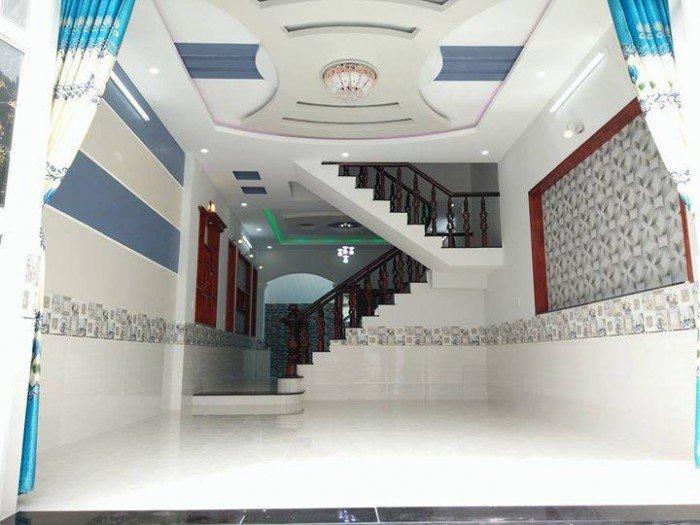 Bán nhà đang hoàn thiện ubnd hưng long giá 799triệu 100m2/shr