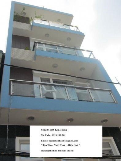 Bán nhà HXH 6m 30/4 Phó Đức Chính, Quận 1, DT 3,8mx18m, trệt - 3 lầu, nhà mới, 12,2 tỷ.