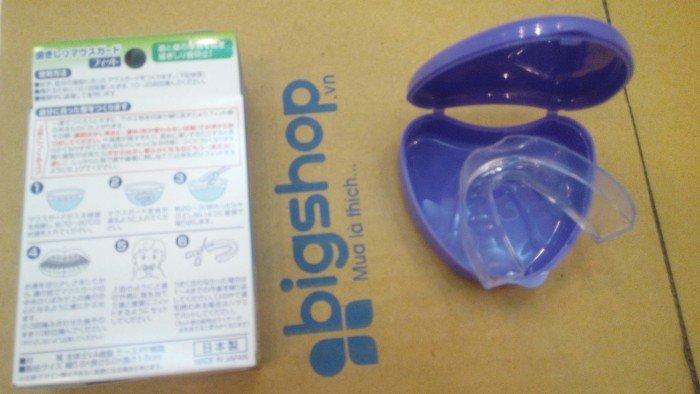 Dụng cụ chống nghiến răng khi ngủ