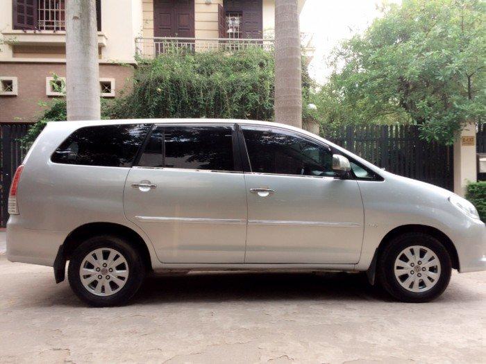 Toyota Innova G sản xuất năm 2009 Số tay (số sàn) Động cơ Xăng