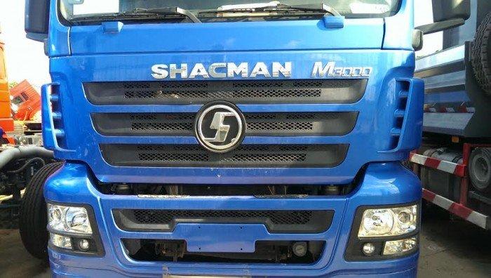 Xe tải thùng 4 chân shacman 3