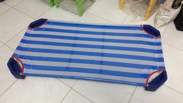 Giường vải lưới giá rẻ cho trường mầm non2