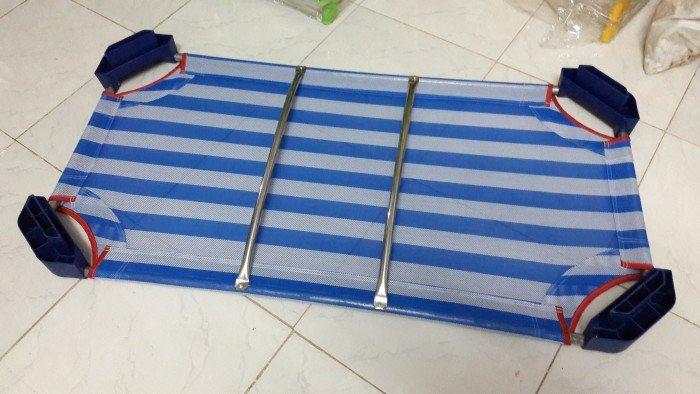 Giường vải lưới giá rẻ cho trường mầm non3