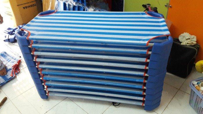 Giường vải lưới giá rẻ cho trường mầm non4