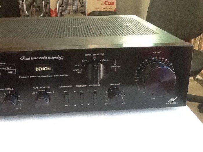 Bán chuyên ampli Denon 940V 98% mới hàng tuyển chọn về .