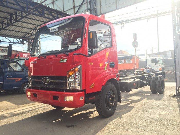 Xe tải veam VT260 1t99 vào thành phố thùng 6m2