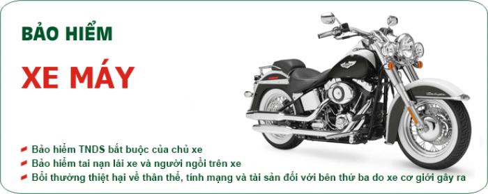 Bảo hiểm xe máy 34k/năm, Giao tận nơi, Giá rẻ nhất Tp.HCM
