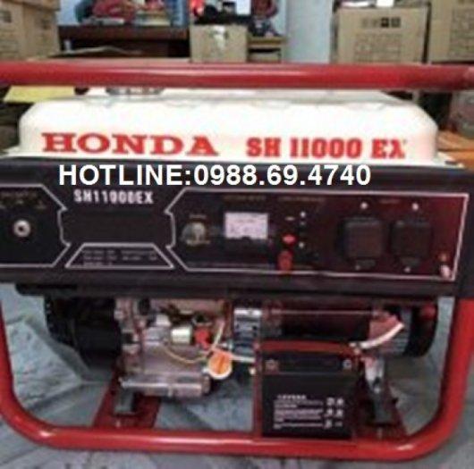 Cung cấp máy phát điện honda chạy xăng SH11000EX công suất 10kw0