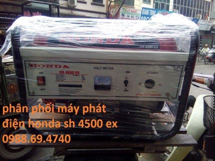 Địa chỉ mua máy phát điện Honda SH7500EX uy tín3