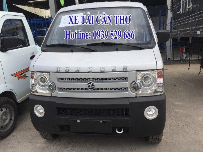 DongBen 870kg Thùng Lửng sản xuất năm 2017 Số tay (số sàn) Xe tải động cơ Xăng