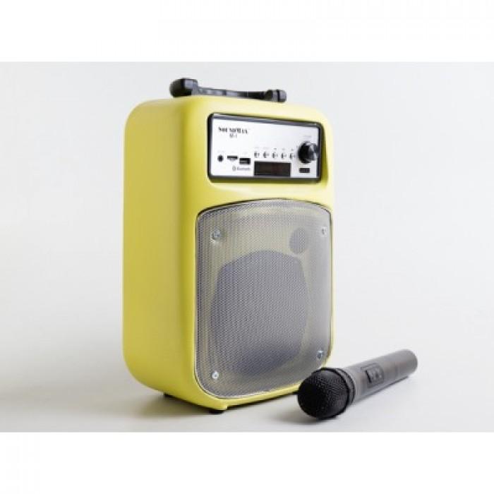 Loa kéo Bluetooth, Loa xách tay SOUNDMAX M1 Nhỏ Gọn, Âm Thanh Ấn Tượng, tặng kèm mic không dây - MSN181162