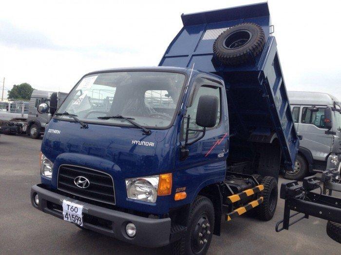Hyundai HD99 5 tấn, xe tải ben 5 tấn, hỗ trợ vay đến 90%, xe có sẵn giao ngay