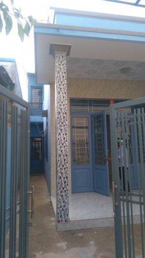 Nhà mới  DT 5 x 15m 1 trệt 1 lửng SHR_ đường QL50