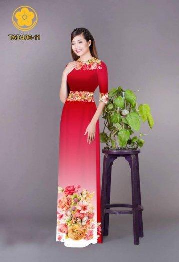 Vải áo dài hoa đẹp được thiết kế đôc đáo của Vải Áo Dài Kim Ngọc16
