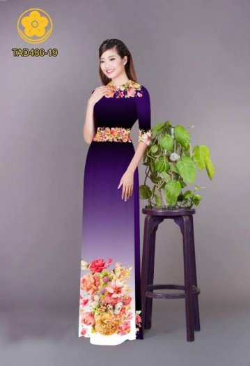 Vải áo dài hoa đẹp được thiết kế đôc đáo của Vải Áo Dài Kim Ngọc23