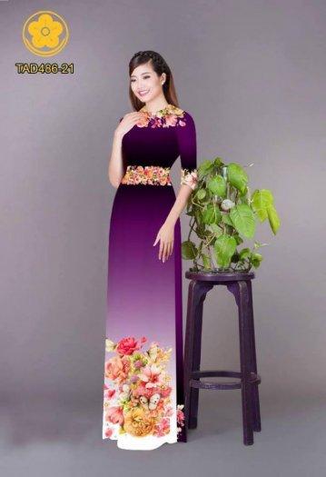 Vải áo dài hoa đẹp được thiết kế đôc đáo của Vải Áo Dài Kim Ngọc29
