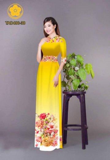 Vải áo dài hoa đẹp được thiết kế đôc đáo của Vải Áo Dài Kim Ngọc30