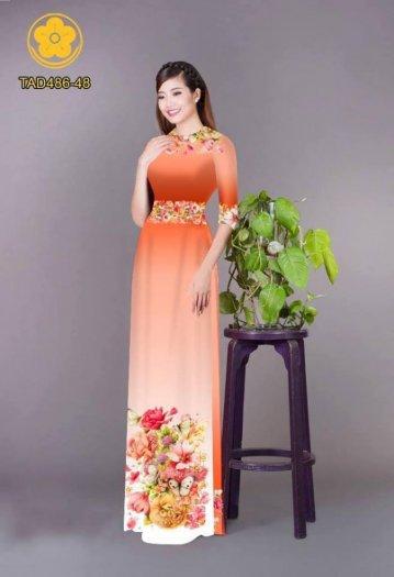 Vải áo dài hoa đẹp được thiết kế đôc đáo của Vải Áo Dài Kim Ngọc12