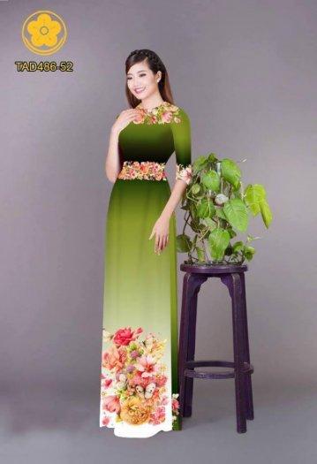 Vải áo dài hoa đẹp được thiết kế đôc đáo của Vải Áo Dài Kim Ngọc17