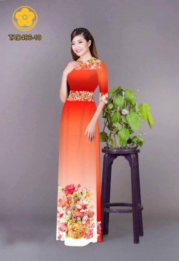 Vải áo dài hoa đẹp được thiết kế đôc đáo của Vải Áo Dài Kim Ngọc20