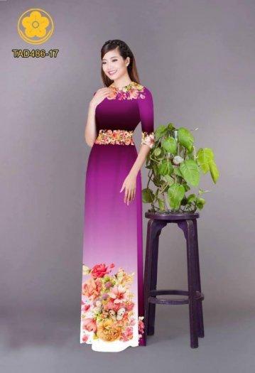 Vải áo dài hoa đẹp được thiết kế đôc đáo của Vải Áo Dài Kim Ngọc26