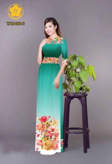 Vải áo dài hoa đẹp được thiết kế đôc đáo của Vải Áo Dài Kim Ngọc31