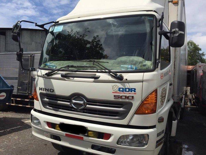HINO FL thùng auto quyền 2014