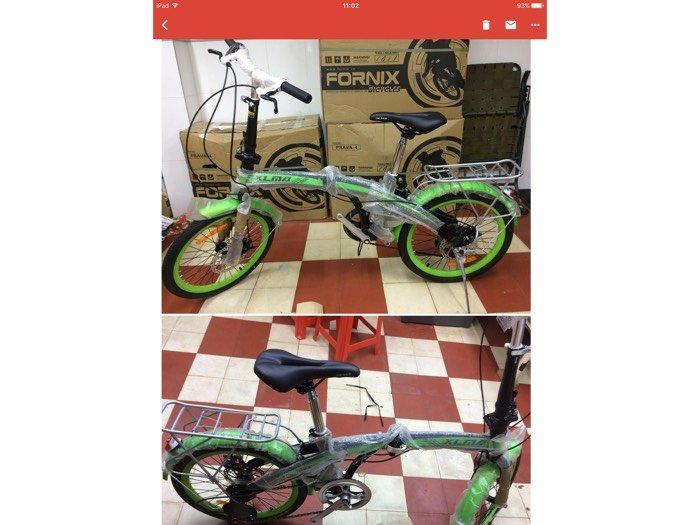 Xe đạp gấp fornix mới 100% nguyên thùng