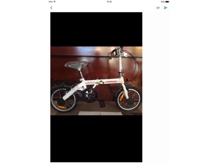 Xe đạp gấp fornix mới 100% nguyên thùng 3