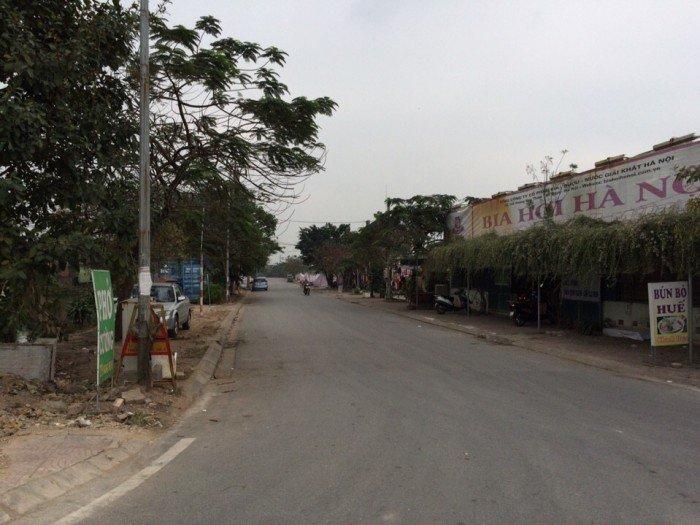 Bán duy nhất mảnh đất đấu giá 80m2 mặt chân đê Thượng Thanh, Long Biên, HN.  Gía 4.1 tỷ