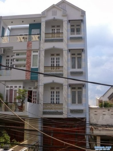 Bán nhà mặt tiền đường số Tân Quy. DT: 4x16. Gía: 5,6 tỷ.