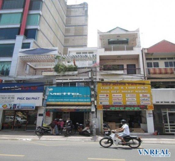 Nhà cho thuê mặt tiền đường Nơ Trang Long, Bình Thạnh.