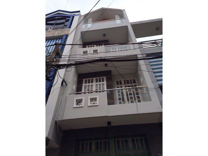 Cần Bán Nhà Q6-4x17-3 tấm rưỡi ! Khu phố chợ An Dương Vương
