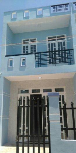 Nhà 1 lầu đường QL50 - DT 5x16m sổ hồng riêng