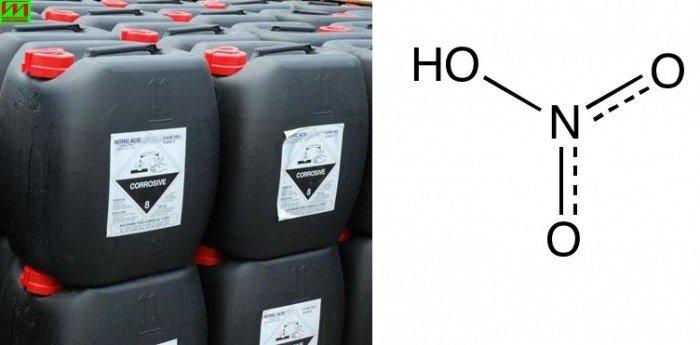 Hoá chất Acid Nitric HNO3 68%2