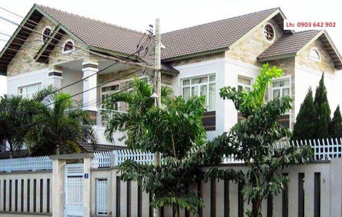 Bán biệt thự đường Nguyễn Bỉnh Khiêm, Quận 1,  13mx14m, toàn bộ gỗ Liêm, đá Cẩm Thạch, giá 25.5 tỷ
