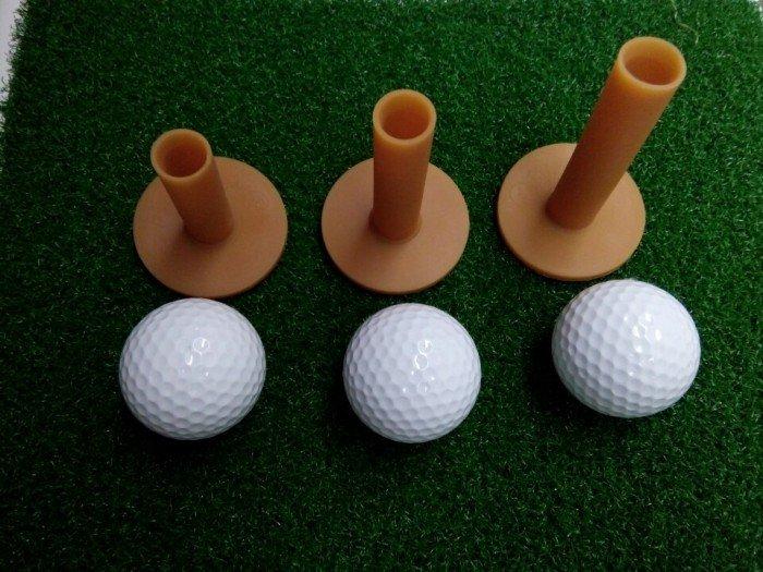 Tee golf cao su, phụ kiện sân tập golf giá tốt nhất1