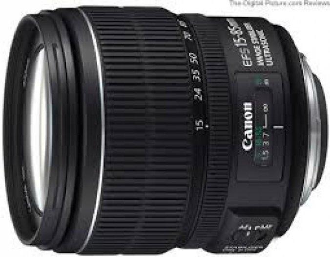 Lens Canon EF-S 15-85mm f/3.5-5.6 IS USM chuyên nghiệp giá rẻ