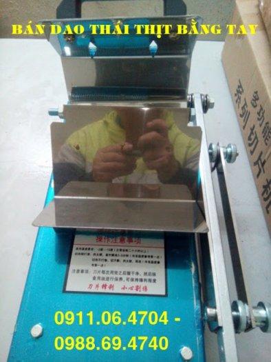 Mua máy thái thịt đông lạnh bằng tay ST200 giá rẻ nhất hà nội0