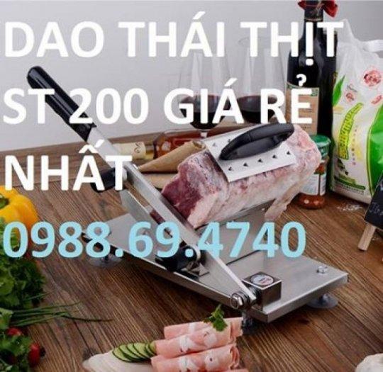 Mua máy thái thịt đông lạnh bằng tay ST200 giá rẻ nhất hà nội1