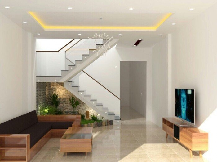 Nhà hai tầng 138m2- hướng đông- tt thành phố- nội thất hiện đại
