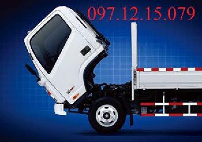 Bán xe tải jac 4,99 tấn 4950ld-4,95t, có xe 2017, thùng mui