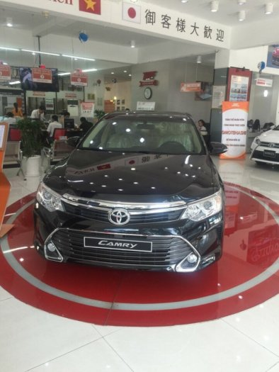 Bán xe Toyota Camry 2.5Q màu Đen, giao ngay, khuyến mãi,tặng Bảo hiểm vật chất,thuế trước bạ xe