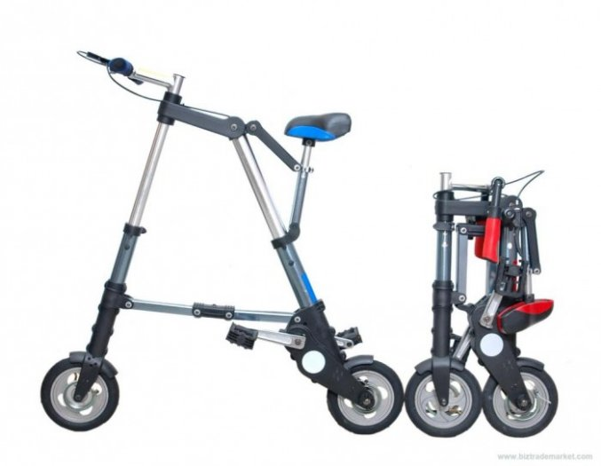 Xe đạp gấp mini A-bike siêu nhỏ