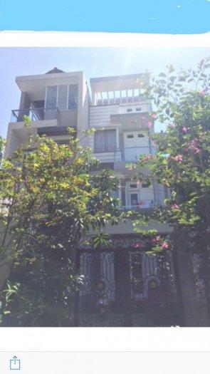 Bán nhà 3 lầu sân thượng xây lệch tầng khu Biệt Thự Kiều Đàm phường Tân Hưng Quận 7.Giá 6,4 tỷ