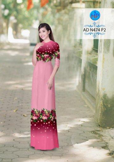 Vải áo dài phối màu Đẹp - lạ - sang của vải Áo Dài Kim Ngọc13