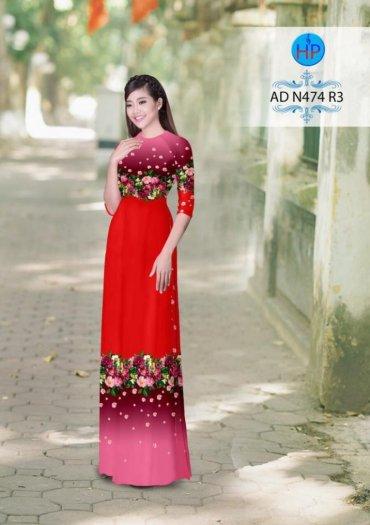Vải áo dài phối màu Đẹp - lạ - sang của vải Áo Dài Kim Ngọc0
