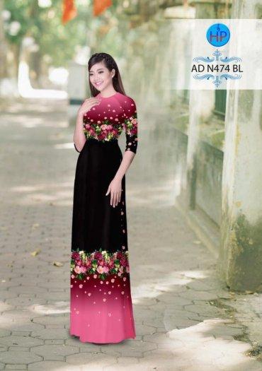 Vải áo dài phối màu Đẹp - lạ - sang của vải Áo Dài Kim Ngọc2